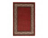 Teppich-Indo Mir Dehli Rot - Reine Wolle - 170 x 240 cm, Parwis