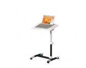 Laptop Tisch auf Rollen verstellbar