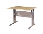 Schreibtisch in Ahorn Dekor Höhenverstellbar