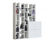 Regalwand Emporior IV - Weiß, loftscape