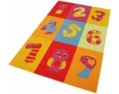 THEKO® Kinder-Teppich »Dhanbad«, bunt, 70x140 cm