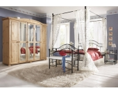 Home Affaire Metallbett, schwarz, 140/200 cm