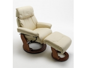 Relax Sessel in Braun-Beige