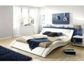 Cats Collection Design Lederbett 180 x 200cm