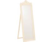 Nostalgischer Standspiegel AMALIA 160 x 45 cm mit wunderschönen Verzierungen, aus bis zu 5 Farben wählen
