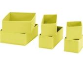 Aufbewahrungsbox im 6er-Set