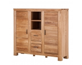 Highboard Damar - Ulme massiv, Ars Natura