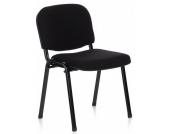 Konferenzstuhl / Besucherstuhl / Stuhl XT 600 schwarz/schwarz hjh OFFICE