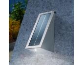 Effect - Solar Wandstrahler Edelstahl mit LED