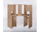 G + K Möbelvertriebs Eckschreibtisch Dornhagen, Kernbuche