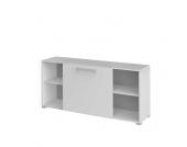Schiebetüren Sideboard in Weiß 160 cm