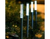 4er-Set LED Solarleuchten FELIA