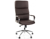 Bürostuhl / Chefsessel BRUNELLO 20 Kunstleder dunkelbraun hjh OFFICE