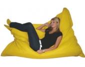 KINZLER Riesen-Sitzsack, 320 Liter, Gelb