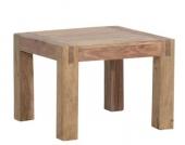 IOVIVO Couchtisch aus Massivholz, quadratisch