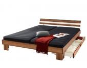 Schlafwelt Futonbett, braun, 90/200 cm, Komfort-Schaummatratze