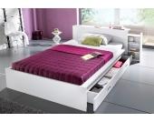 Schlafwelt Futonbett, weiß, 90/200 cm