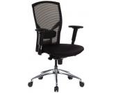 Bürostuhl / Chefsessel X1-TEC Netz schwarz hjh OFFICE