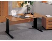 PC-Tisch in Kirschbaum Dekor
