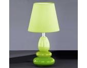 Tischlampe in Grün